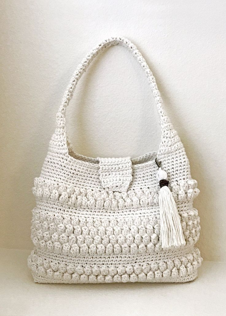 Emma Crochet Bag Pattern by Deborah O'Leary Patterns