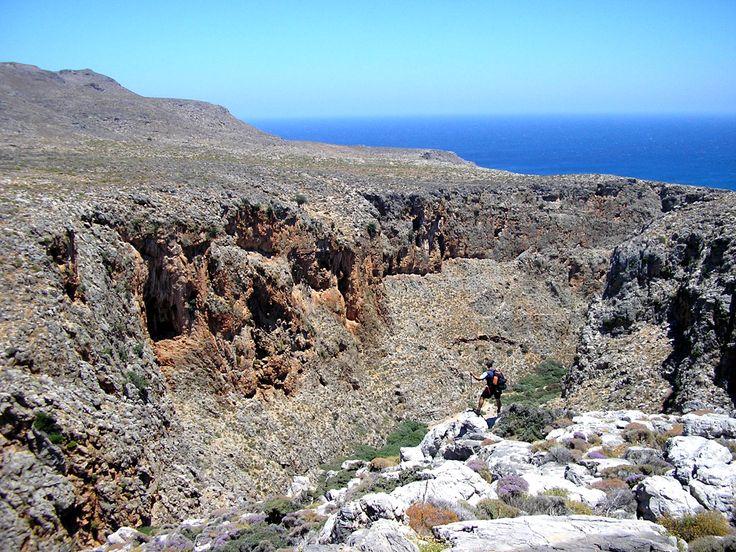 ... a well protected paradise for #trekking! Read more : http://www.cretetravel.com/guide/kato-zakros/ #Hiking #Kato #Zakros #Lasithi