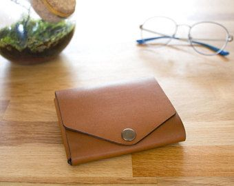 Mone'Hold Leather Wallet - Brown