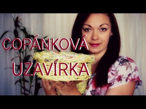 Copánková uzavírka / pletení z papíru - Ruční práce - MojeDílo.cz