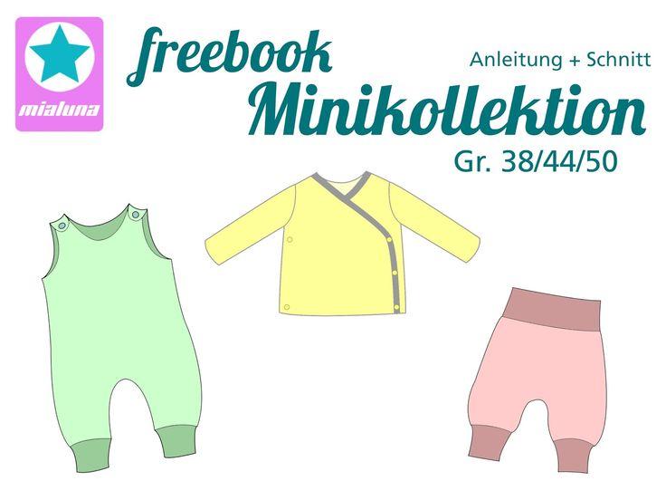 Frühchen Kollektion: Wickelshirt, Hose, Strampler, 38,44,50