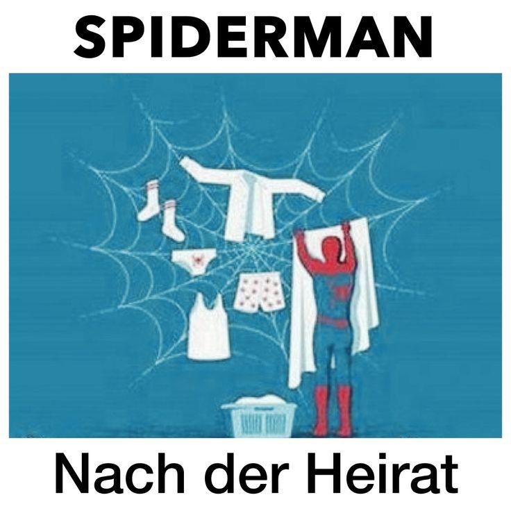 SPIDERMAN - Nach der Heirat, HAUSman, Ehe Witze