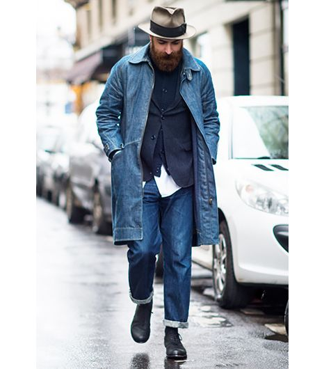 @Who What Wear - Growing a beard (facial hair is the new fringe). Image courtesy of Adam Katz Sinding