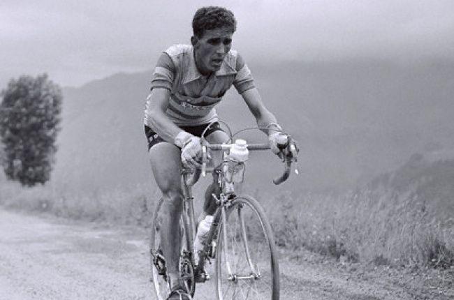 Federico Bahamontes in the 1956 Tour de France