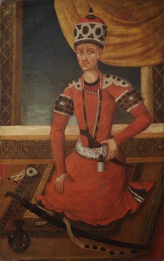 Mohammad Khan Qajar,1820 Agha Mohammad Khan Qajar Founder and First Shah of the Qajar Dynasty