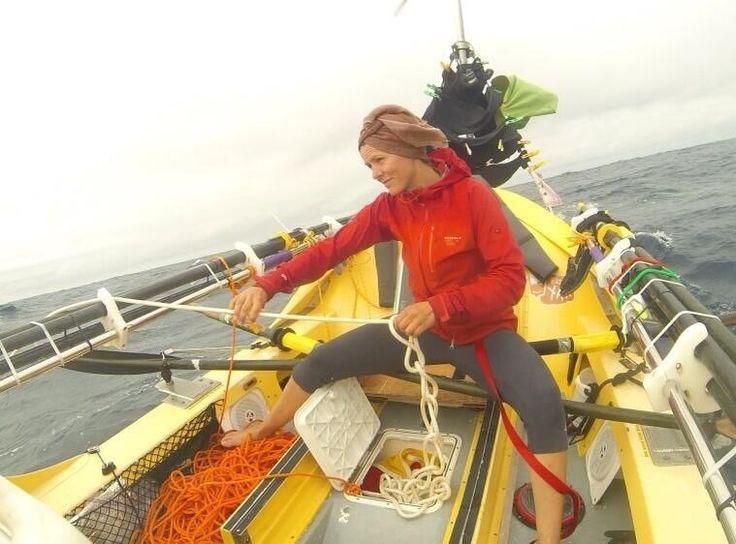 Elle ramasse l'ancre flottante... @mylenepaquette