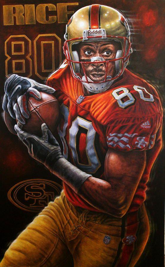 Jerry Rice Original Painting