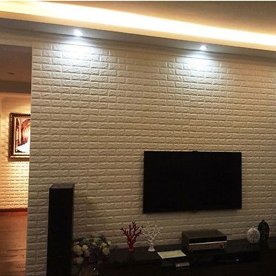 3D Brick Pattern Wallpaper Bedroom Living Room Modern Wall Background TV Decor