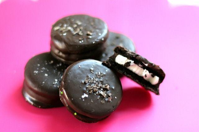 Chocolate Covered Oreos Recipe Food Network