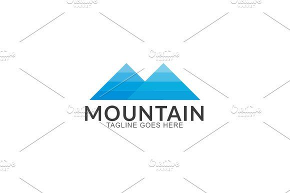 Mountain by GoldenCreative on @creativemarket