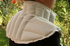 Tuto bouillotte pour soulager les cervicales en graines de lin : http://crea.nusgo.com/tuto/bouillotte-cervicales-lin.bio