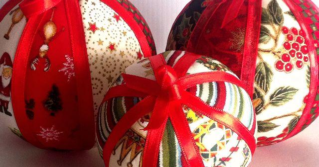 Lleva tu árbol de bolas de Navidad de tela