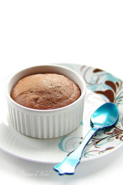 L'irrésistible moelleux au chocolat... recette du Ritz.