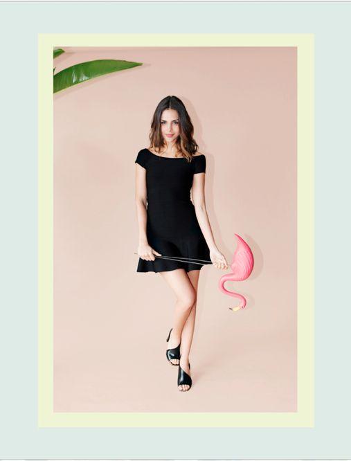 Alquiler de Vestidos de Fiesta en Bogotá  Alquila este vestido, haz click aquí: http://www.pretarent.com.co/shop/producto/vestido-corto-ft-flare-con-cuello-bandeja