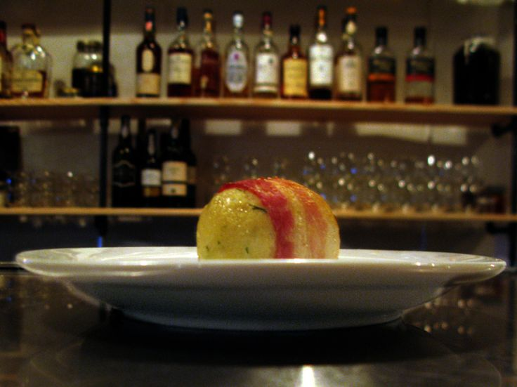 At the fusion brainchild of a Ilan Hall, you can eat bacon-wrapped matzo balls, gefilte fish and chips, and Manischewitz-braised pork belly all in one sitting. It's Scottish-Jewish food at it's finest — even if there isn't much competition.