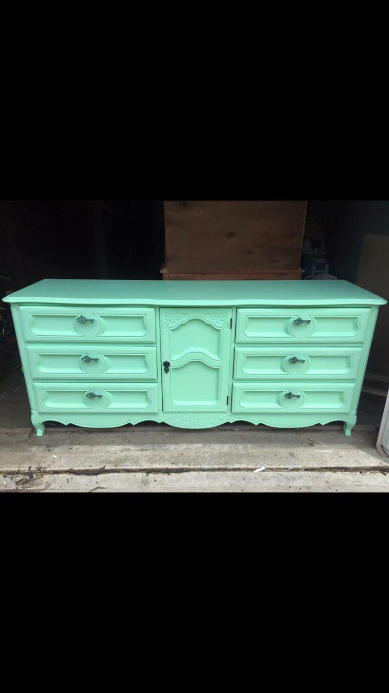 Facebook: Brayu0027s Boomu0027n Furniture Refinished French Provincial  Buffet/dresser.