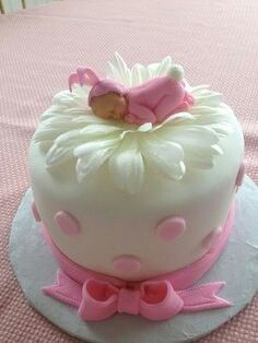 Cake perfect for a baby shower
