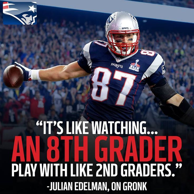#teamGronk