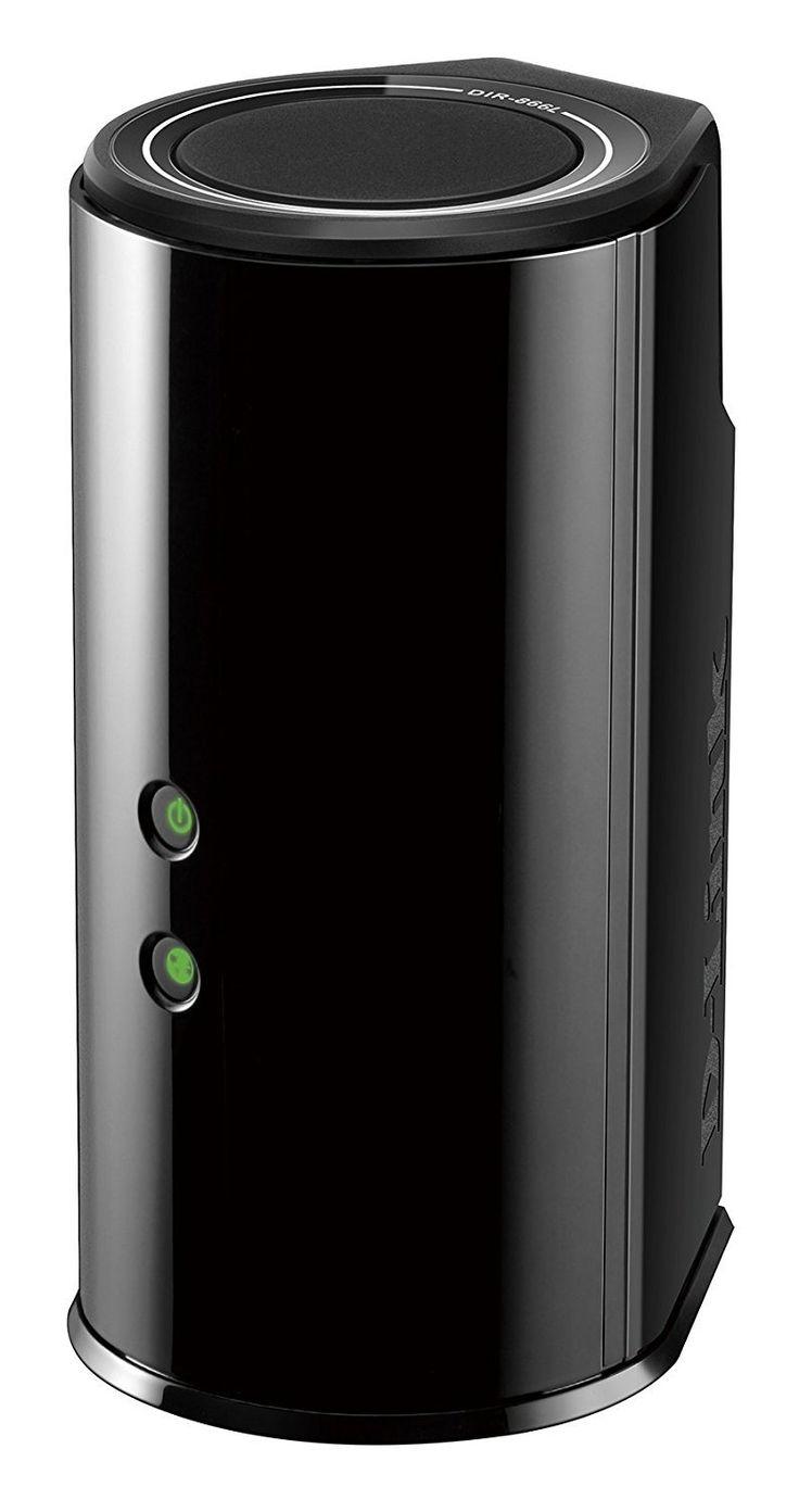 D-Link Wireless AC Smart Beam 1750 Mbps Home Cloud App-Enabled Dual-Band Gigabit Router (DIR-866L)