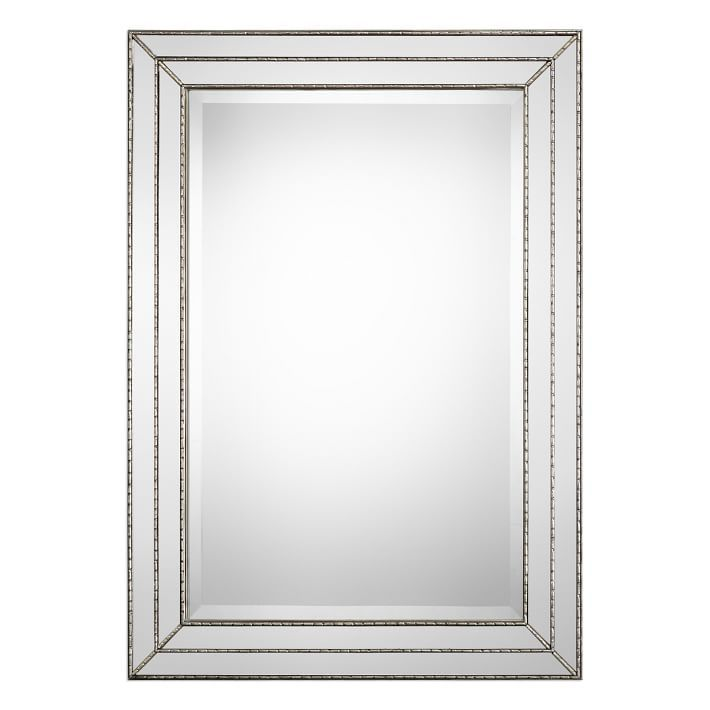 Stepped Frame Metal Mirrors Mirror Wall Framed Mirror Wall Metal Mirror 8 foot mirror for wall