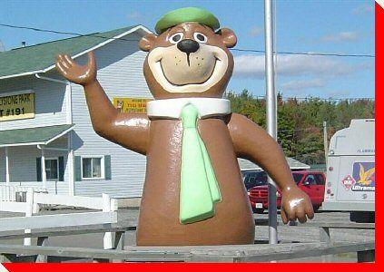 Yogi Bear - Woodstock, New Brunswick