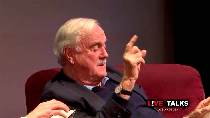 """We hosted John Cleese and Eric Idle at Live Talks Los Angeles on Nov. 18. The occasion: Cleese' memoir, """"So, Anyway..."""" The venue, a sold crowd at the Alex T..."""