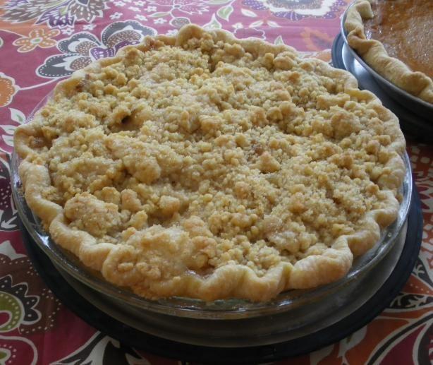 "Five star rated Dutch apple pie recipe on food.com  Turned out Great!  I use an all butter pie crust from the ""Vermont's best apple pie"" recipe."