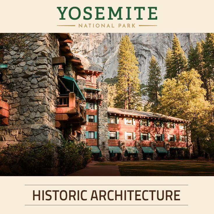 The history and architecture of The Majestic Yosemite Hotel in Yosemite National Park.