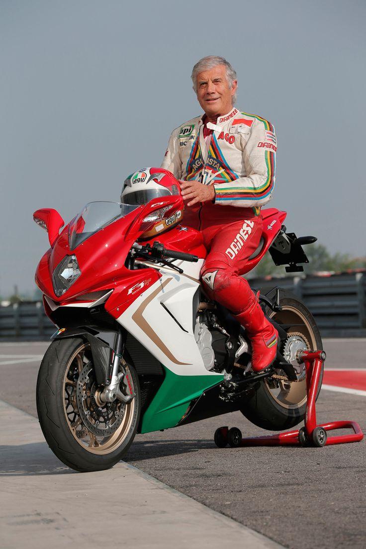 MV AGUSTA F3 800 Ago. Giacomo Agostini, 15 times World Champion.