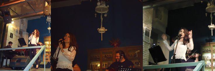 Βάσια Δανιά live @ Jazz Point (18/3/2016) με Δημήτρη Καζάνη (βιολί), Στέλιο Φραγκούς (πλήκτρα) και Γιώργο Πασχάλη (κιθάρα)