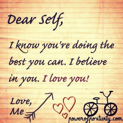 Dear Self,