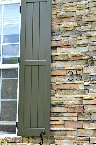 Best 25 board and batten shutters ideas on pinterest - Framed board and batten exterior shutters ...