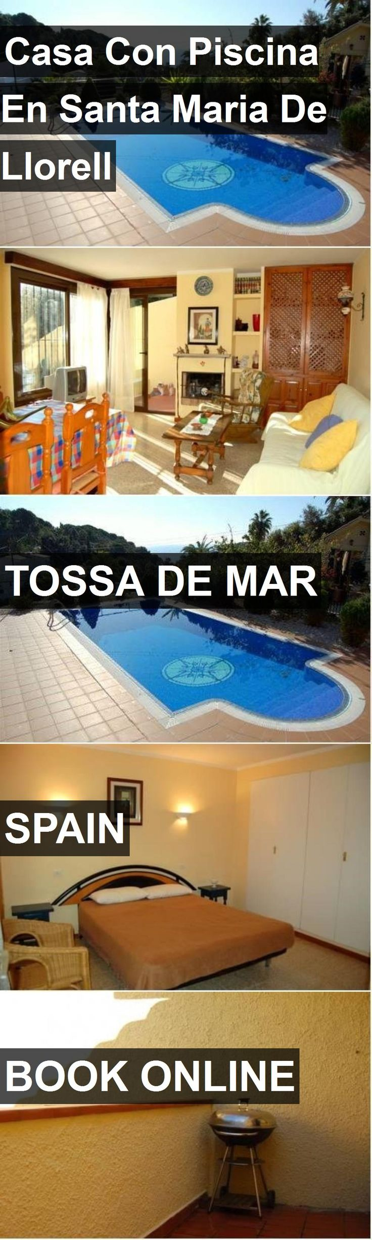 Hotel Casa Con Piscina En Santa Maria De Llorell in Tossa de Mar, Spain. For more information, photos, reviews and best prices please follow the link. #Spain #TossadeMar #travel #vacation #hotel