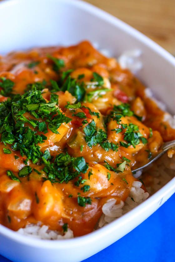 Shrimp Etouffee, this is my favorite Cajun, and Creole dish in the world... it is sooo good!