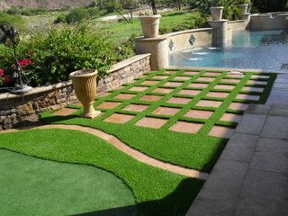 Synthetic Grass Grids Pavers Stepping Stones Artificial