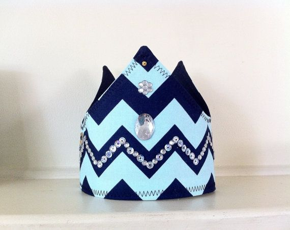 Royal Regal Boys King Prince Fabric Crown & Cape by MadeByBecky, $32.00