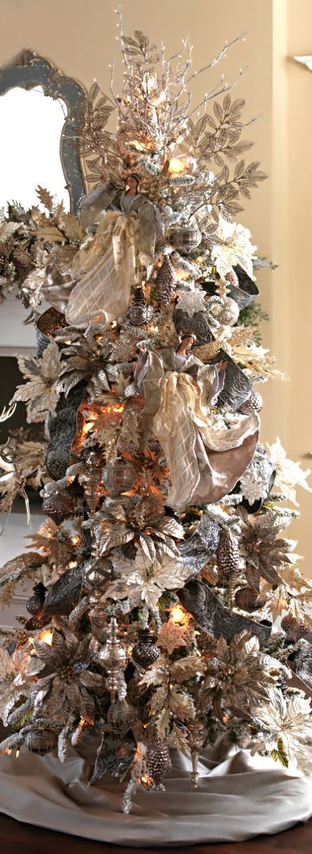Images of decorated christmas trees 2017