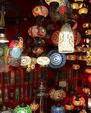 De compras, por los mercados de Estambul