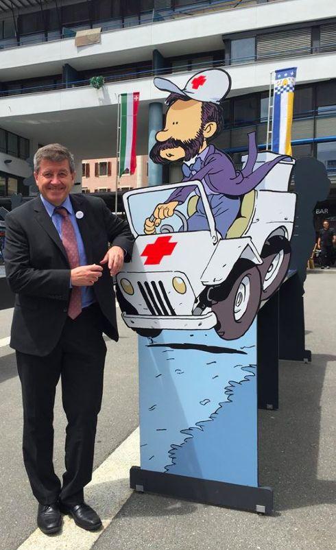 Guy Ryder, directeur général de l'Organisation internationale du Travail, à Schaffhouse