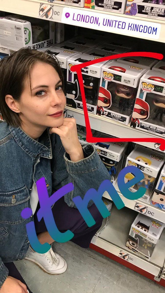 Willa Holland: It's me.