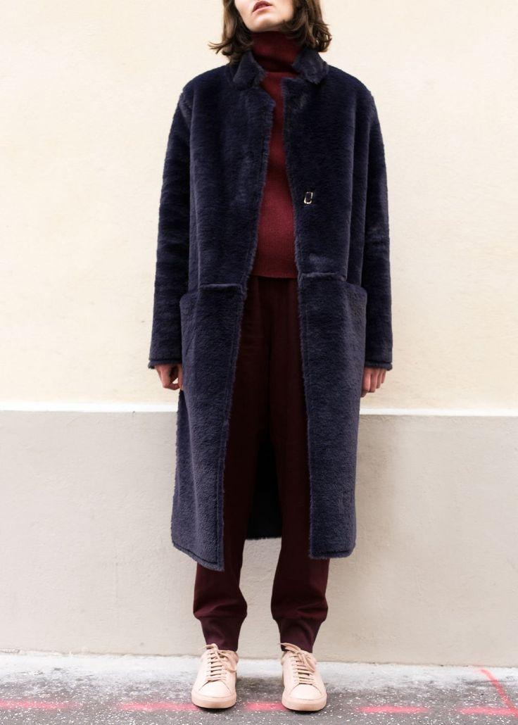 25  cute Shearling coat ideas on Pinterest | Shearling jacket ...