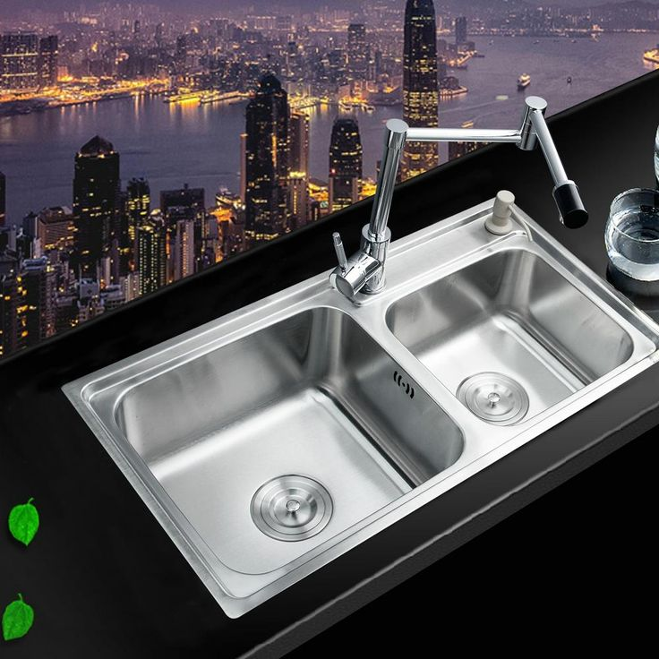 New Brand ⓪ Single Handle Swivel 360 Kitchen Tap Sink 304 Stainless Steel Countertop Set Torneira Mixer Faucet