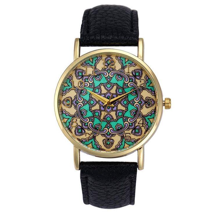 5ef4a22215e Barato Totem Retro Dial Assista Mulheres Vestido Relógio de Pulso Relógio  Relogio feminino das Mulheres Casuais
