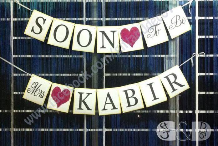 #banner #event #decoration #giftanddeco1 #bridalshower #bridal #shower #soontobe #party #wedding #reception