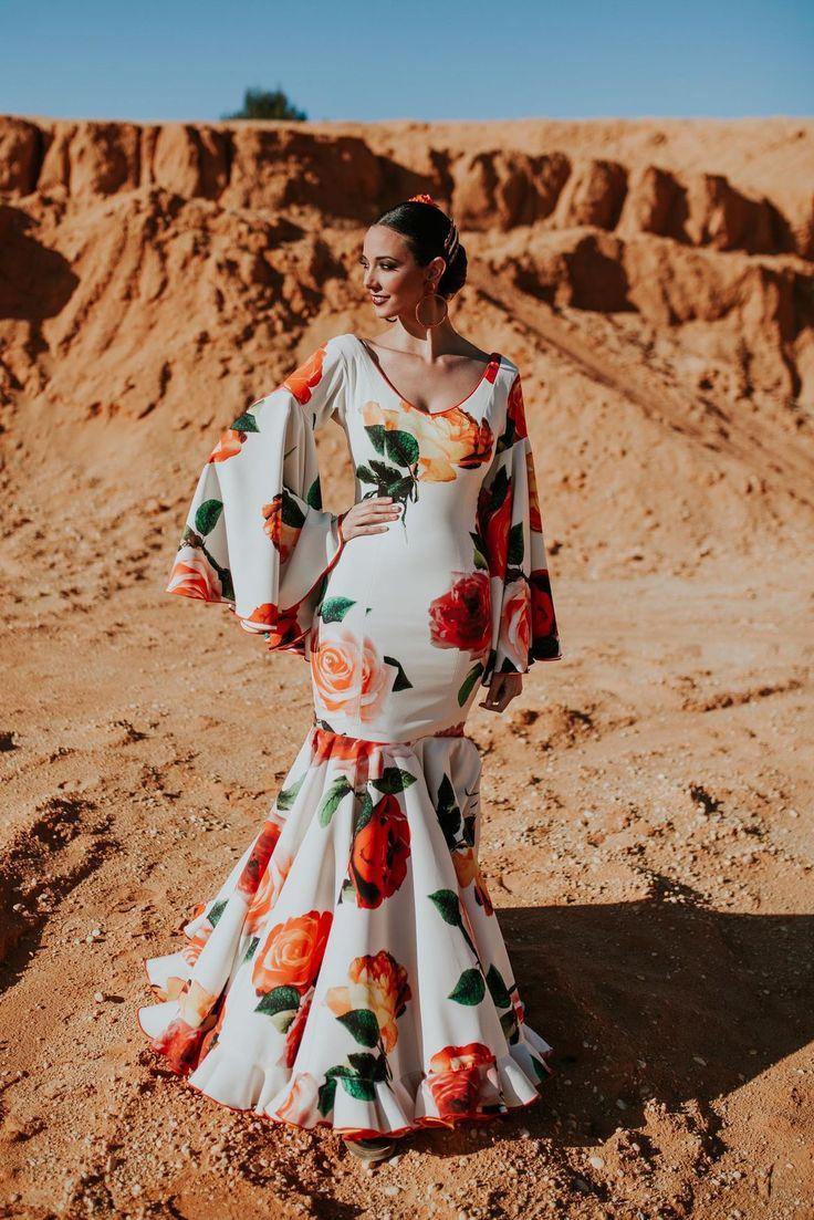 Trajes de flamenca 2018. Colección Tierra