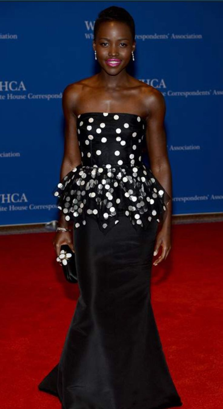 Lupita Nyong'o at the 100th Annual White House Correspondents' Association Dinner