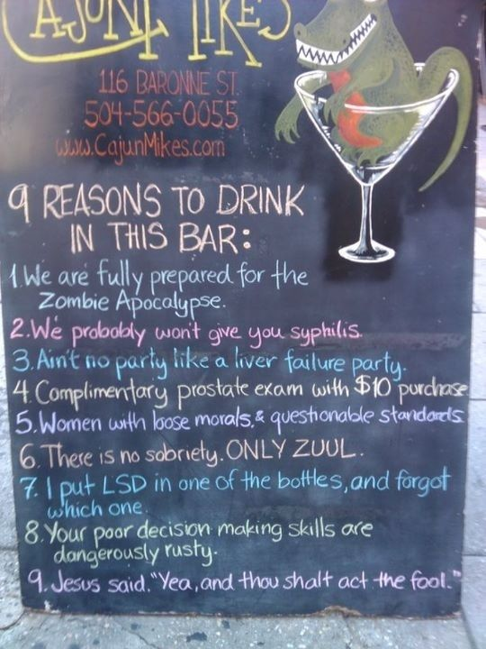 I need to check this place out. Sold! | 27 Bars That Are Making Some Pretty Compelling Arguments