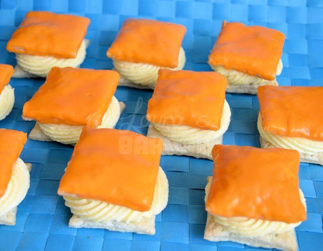 De enige echte: oranje tompouce (how to) - Laura's Bakery