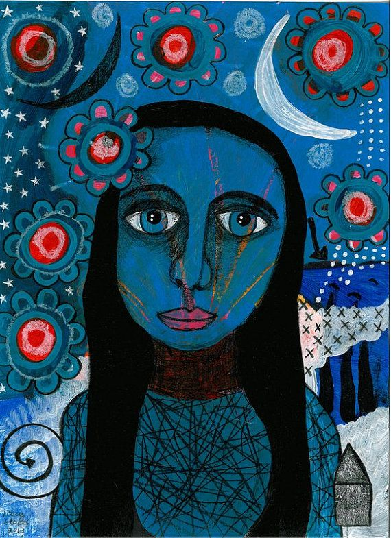 Intuitive mixed media art | Limited edition prints | intuitive painting