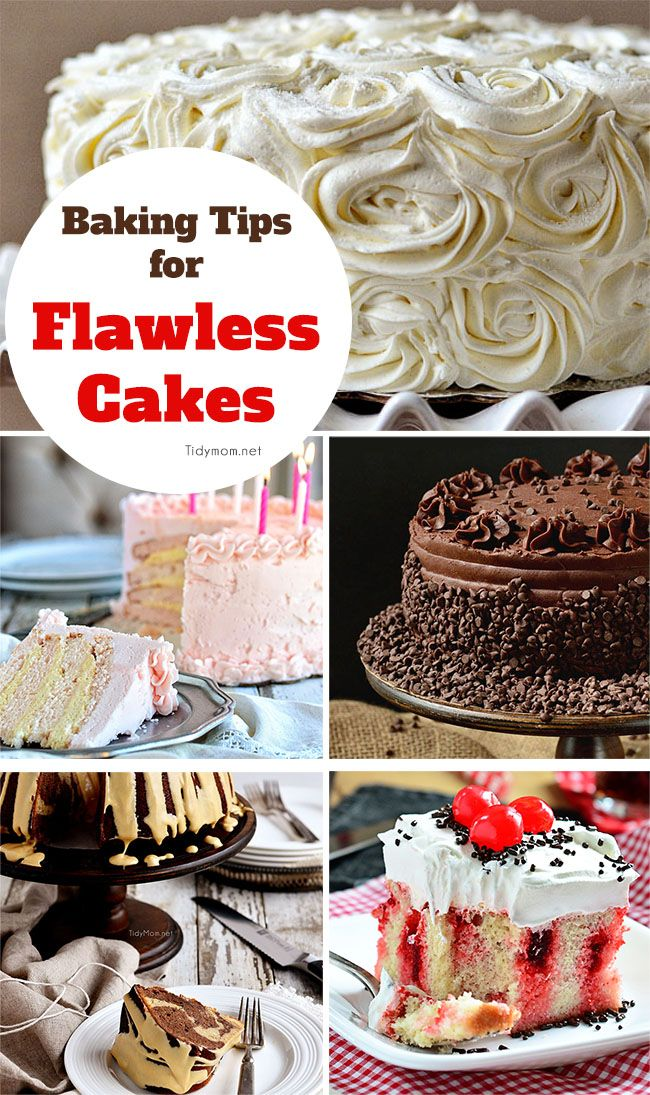 Baking Tips for Flawless Cakes | TidyMom.net